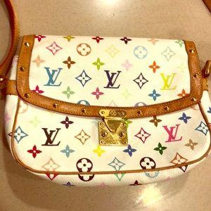 Louis Vuitton Sologne Multicolor Shoulder Bag